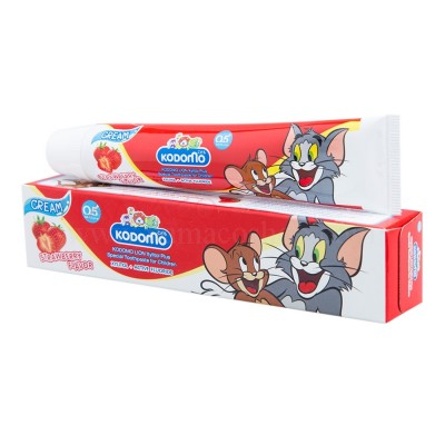 Kodomo kids toothpaste cream strawberry flavor 40g