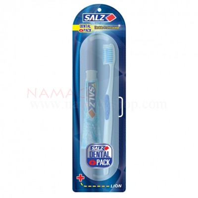 Salz travel set toothbrush+toothpaste