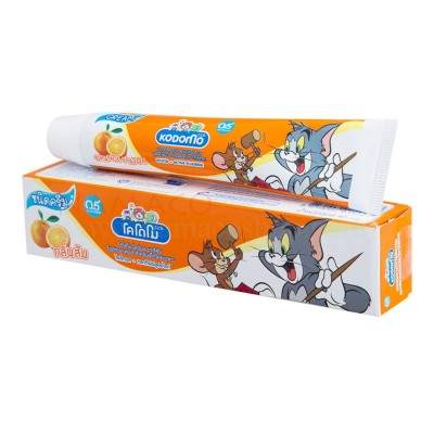 Kodomo kids toothpaste cream orange flavor 40g