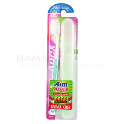 Aim apex toothbrush Medium tapered bristles