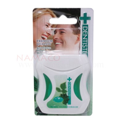 Dentiste dental floss waxed mint 50m