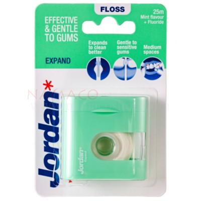 Jordan floss Expand Mint flavor + fluoride 30m