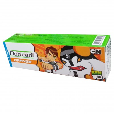 Fluocaril Kids toothpaste orange 2-6 years 65g Ben10