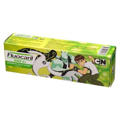 Fluocaril kids toothpaste Green age 6+ Ben10 65g