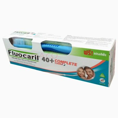 Fluocaril toothpaste 40 plus complete care 160g