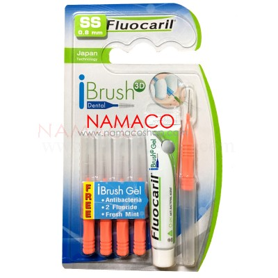 Fluocaril Interdental brush I shape size SS 0.8mm 5pcs