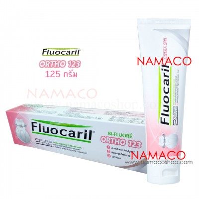 Fluocaril toothpaste Ortho 123 125g