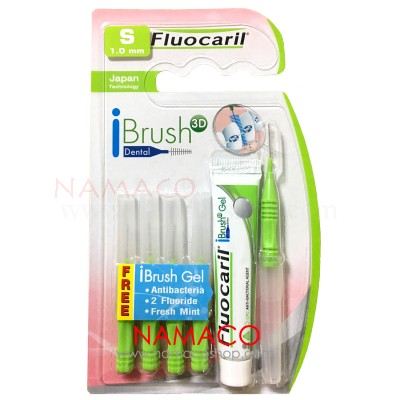 Fluocaril Interdental brush I shape size S 1.0mm 5pcs