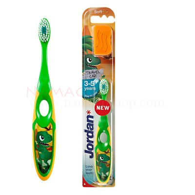 Jordan kids toothbrush step 2 age 3-5 years