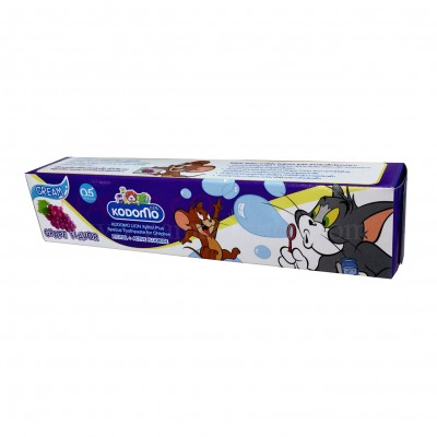 Kodomo kids toothpaste cream grape flavor 80g