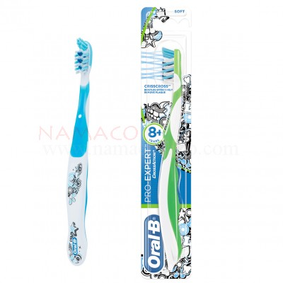 Oral-B kids toothbrush stages 4  Crossaction 8+years