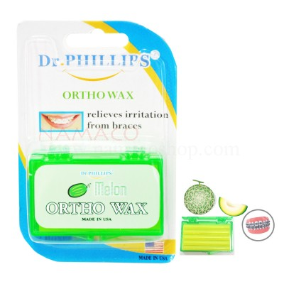 Dr. Phillips ortho wax melon flavour 2 box/pack