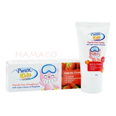 Pureen Kids toothpaste Fluoride free strawberry flavor 40g