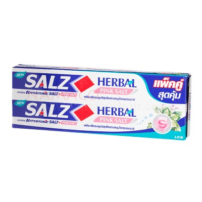Salz toothpaste Herbal pink Salt 2x160g