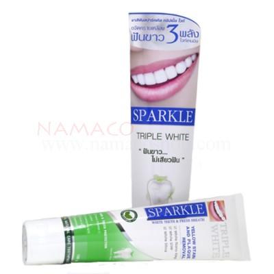 Sparkle toothpaste Triple white 100g