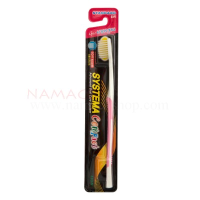 Systema toothbrush compact standard soft, bristles
