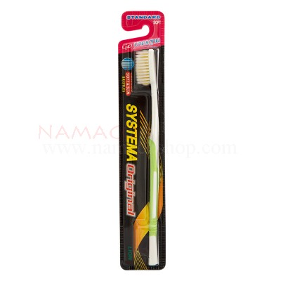 Systema toothbrush original, standard soft, bristles