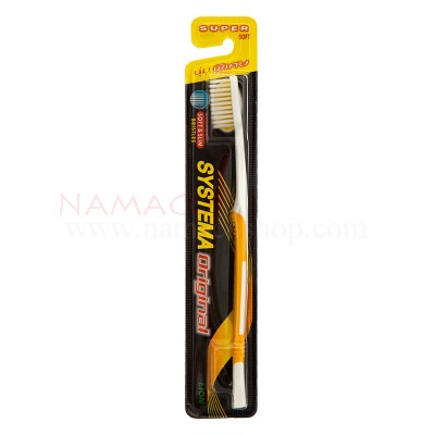 Systema toothbrush original, super soft, bristles