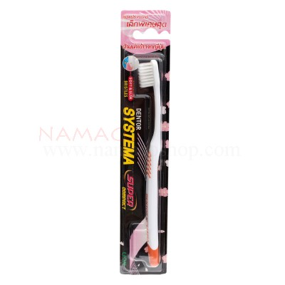 Systema toothbrush super compact, standard soft, bristles