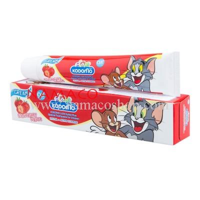Kodomo kids toothpaste cream strawberry flavor 40g