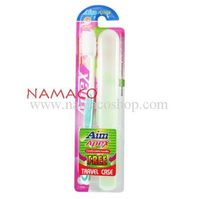 Aim apex toothbrush Medium tapered bristles