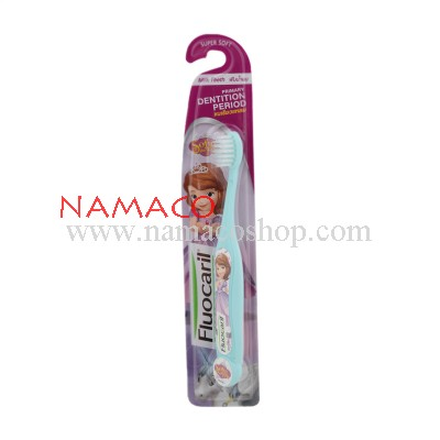 Fluocaril kids toothbrush sofia super soft age 2-6