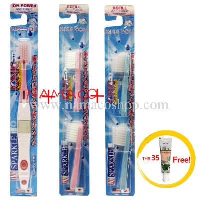 Sparkle toothbrush IONIC 1pc + refill 2pack