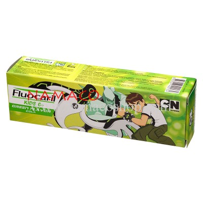 Fluocaril kids toothpaste Green age 6+ Ben10 65g