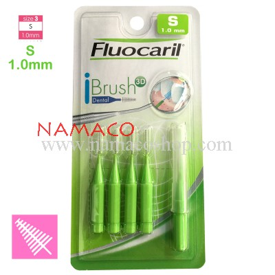Fluocaril Interdental brush I shape size S 1.0mm 5pcs