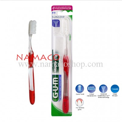 GUM Toothbrush Micro Tip compact 475
