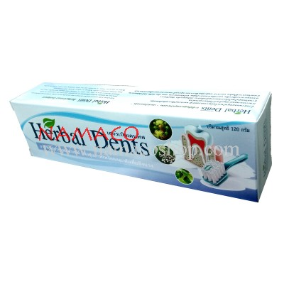 Herbal Dents toothpaste 120g