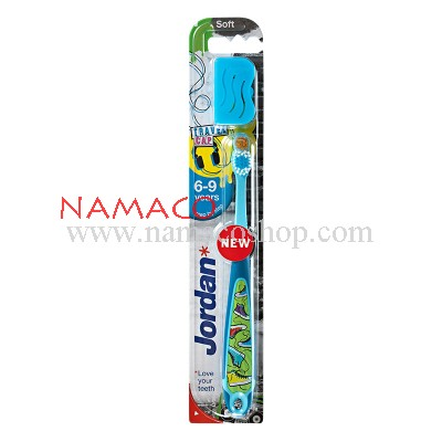 Jordan Kids toothbrush step3 age 6-9 years