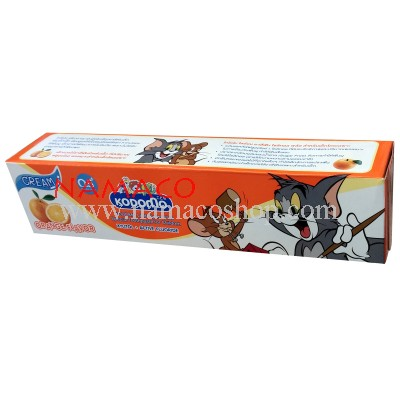 Kodomo Kids toothpaste orange flavor 80g