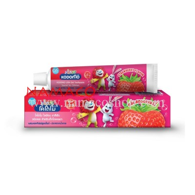 Kodomo kids Gel toothpaste strawberry flavor 40g