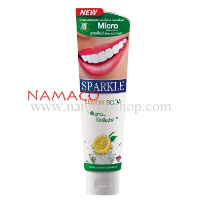 Sparkle toothpaste Double White Lemon Soda 100g
