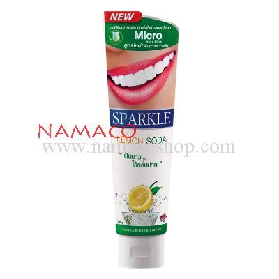Sparkle toothpaste Double White Lemon Soda 100g