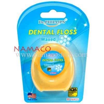 Dr. Phillips Dental Floss waxed 50m