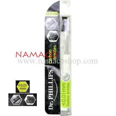Dr. Phillips toothbrush carbon (charcoal) bristles