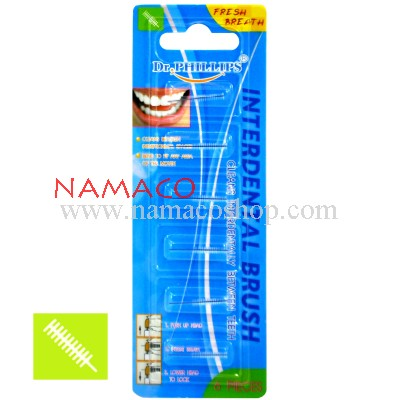 Dr. Phillips Refill Interdental Brush (Cylindrical)