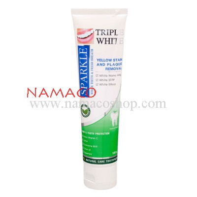 Sparkle toothpaste Triple white 100g